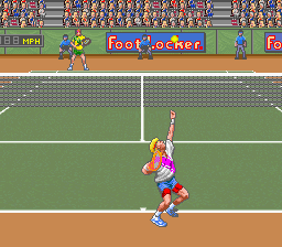 David Crane's Amazing Tennis [Model SNSP-ZT-EUR] screenshot