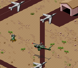 Desert Strike - Return to the Gulf [Model SNSP-RG-EUR] screenshot