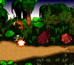 Donkey Kong Country [Model SNSP-8X-NOE] screenshot
