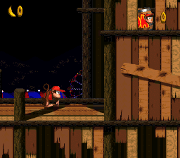 Donkey Kong Country 2 - Diddy's Kong Quest [Model SNS-ADNE-USA] screenshot