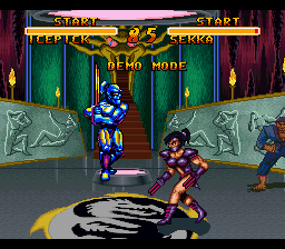 Double Dragon V - The Shadow Falls [Model SNSP-5E-EUR] screenshot