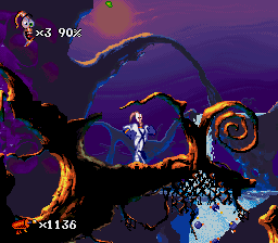 Earthworm Jim 2 [Model SNSP-A2EP-EUR] screenshot