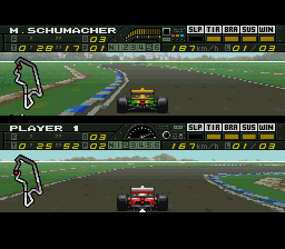 F1 Pole Position [Model SNSP-6P-EUR] screenshot
