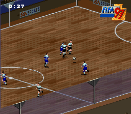 FIFA 97 - Gold Edition [Model SNSP-A7IP-EUR] screenshot