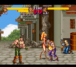 Final Fight 2 [Model SNSP-F2-EUR] screenshot