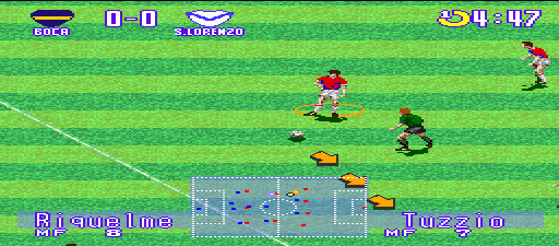 Futbol Argentino '96 screenshot
