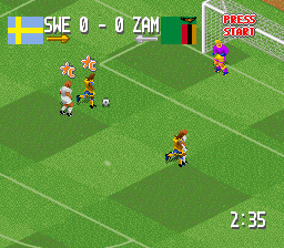 Head-On Soccer [Model SNS-AVSE-USA] screenshot