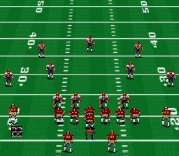 John Madden Football '93 [Model SNS-MF-USA] screenshot
