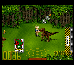 Jurassic Park [Model SNSP-J8-EUR] screenshot