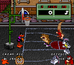 Looney Tunes Basketball [Model SNSP-ALTP-USA] screenshot