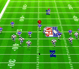 Madden NFL '94 [Model SNSP-9M-EUR] screenshot