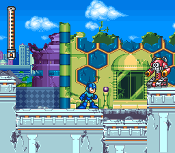 Mega Man 7 [Model SNS-A7RE-USA] screenshot