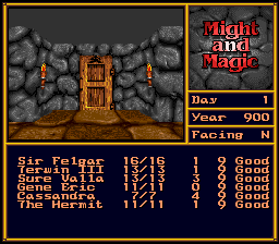 Might and Magic II - Gates to Another World [Model SNSP-MG-EUR] screenshot