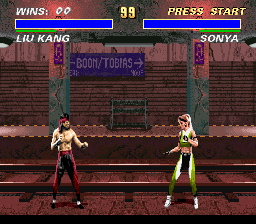 Mortal Kombat 3 [Model SNSP-A3MP-EUR] screenshot
