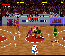 NBA Jam [Model SNSP-8N-NOE] screenshot
