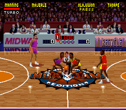NBA Jam Tournament Edition [Model SNSP-AJTP-EUR] screenshot