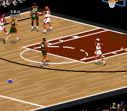 NBA Live 97 [Model SNSP-A7LP-EUR] screenshot