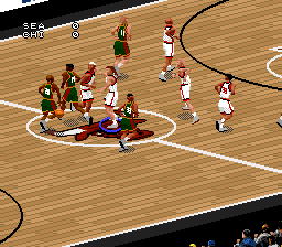 NBA Live 97 [Model SNS-A7LE-USA] screenshot