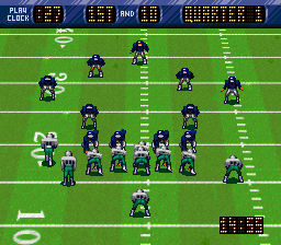 NFL Quarterback Club [Model SNSP-Q9-USA] screenshot