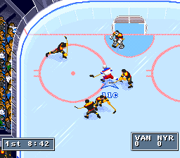 NHL '95 [Model SNS-ANHE-USA] screenshot