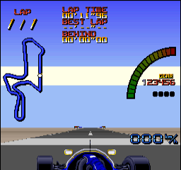 Nigel Mansell's World Championship Racing [Model SNSP-NW-NOE] screenshot