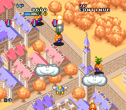 Pop'n TwinBee screenshot