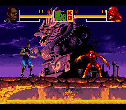 Shaq Fu [Model SNSP-AQFP-FAH] screenshot