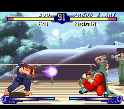 Street Fighter Alpha 2 [Model SNSP-AUZP-EUR] screenshot