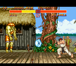 Street Fighter II - The World Warrior [Model SNS-S2-USA] screenshot