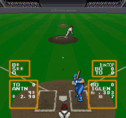 Super Baseball Simulator 1.000 [Model SNS-UB-USA] screenshot
