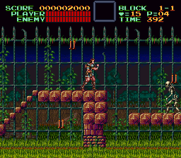 Super Castlevania IV [Model SNSP-AD-FAH] screenshot