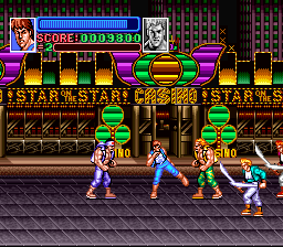 Super Double Dragon [Model SNSP-WD-FAH] screenshot