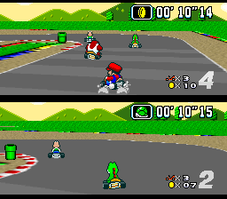 Super Mario Kart [Model SNS-MK-USA] screenshot
