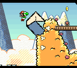 Super Mario World 2 - Yoshi's Island [Model SNSP-YI-NOE] screenshot