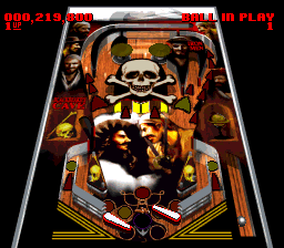 Super Pinball - Behind the Mask [Model SNSP-XP-NOE] screenshot