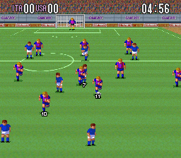 Super Soccer [Model SNS-FS-USA] screenshot