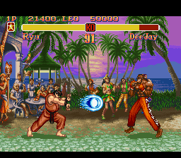 Super Street Fighter II - The New Challengers [Model SNS-XW-USA] screenshot