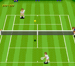 Super Tennis [Model SNSP-ST-NOE] screenshot