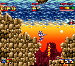 Super Turrican [Model SNSP-TU-NOE] screenshot