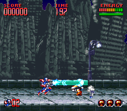 Super Turrican 2 [Model SNSP-A2TP-EUR] screenshot