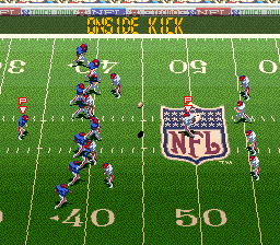 Tecmo Super Bowl III - Final Edition screenshot