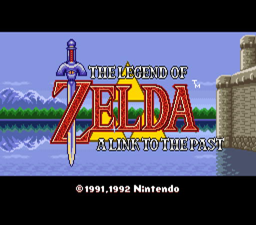 The Legend of Zelda - A Link to the Past [Model SNS-ZF-CAN-1] screenshot