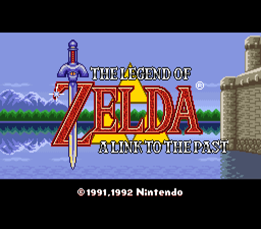 The Legend of Zelda - A Link to the Past [Model SNS-ZL-USA] screenshot