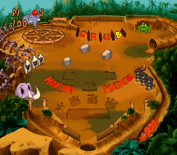 Timon & Pumbaa's Jungle Games [Model SNSP-AJ9P-EUR] screenshot