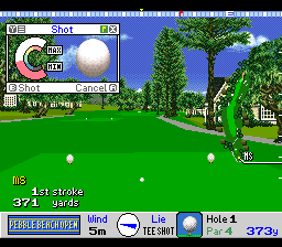 True Golf Classics - Pebble Beach Golf Links [Model SNSP-GB-UKV] screenshot
