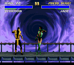Ultimate Mortal Kombat 3 [Model SNSP-A3MP-EUR] screenshot