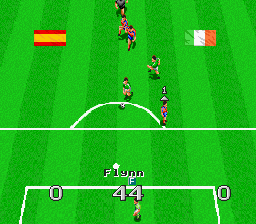 Virtual Soccer [Model SNSP-VX-NOE] screenshot
