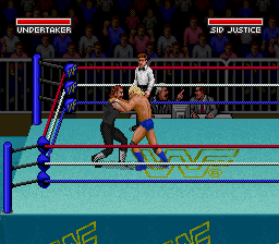WWF Super WrestleMania [Model SNSP-WF-NOE] screenshot