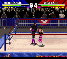 WWF WrestleMania - The Arcade Game [Model SNSP-AWVP-EUR] screenshot
