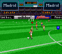 World Soccer screenshot